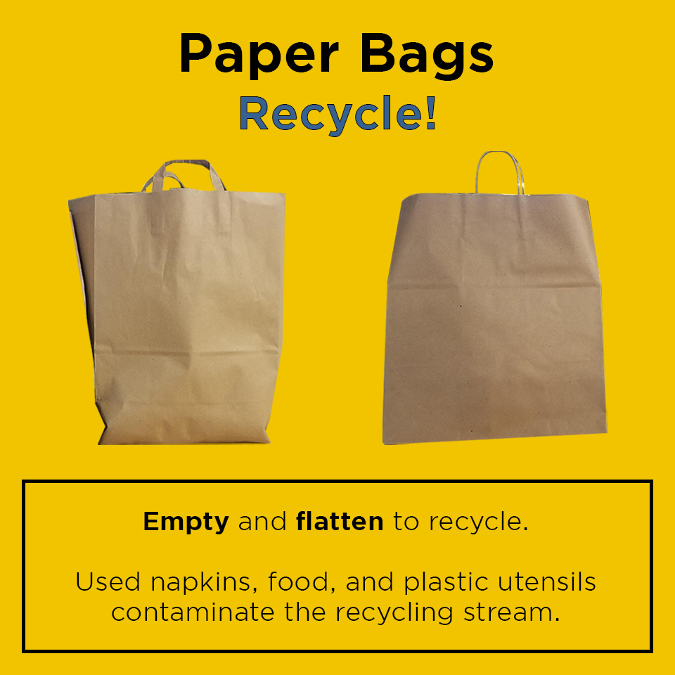 """""""Paper bags - Recycle"""""""