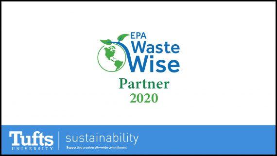 EPA Waste Wise and Tufts University partnership