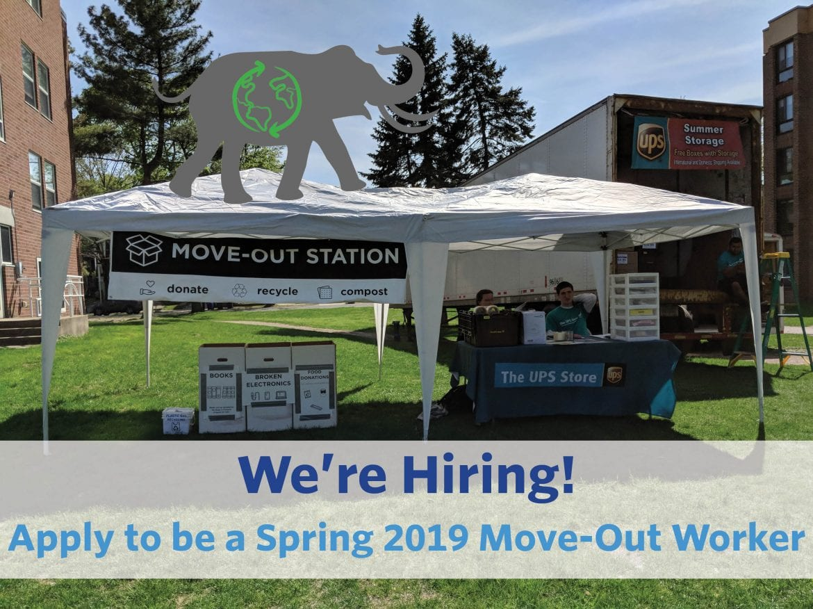 Apply to be a Spring 2019 Move-Out Worker!