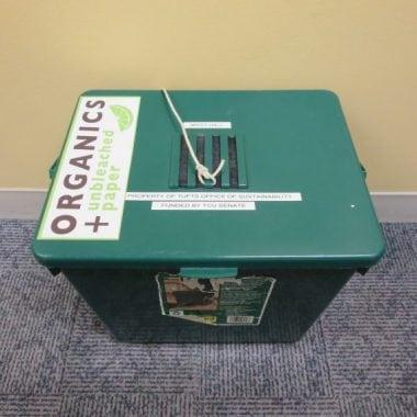Green Composting Bin