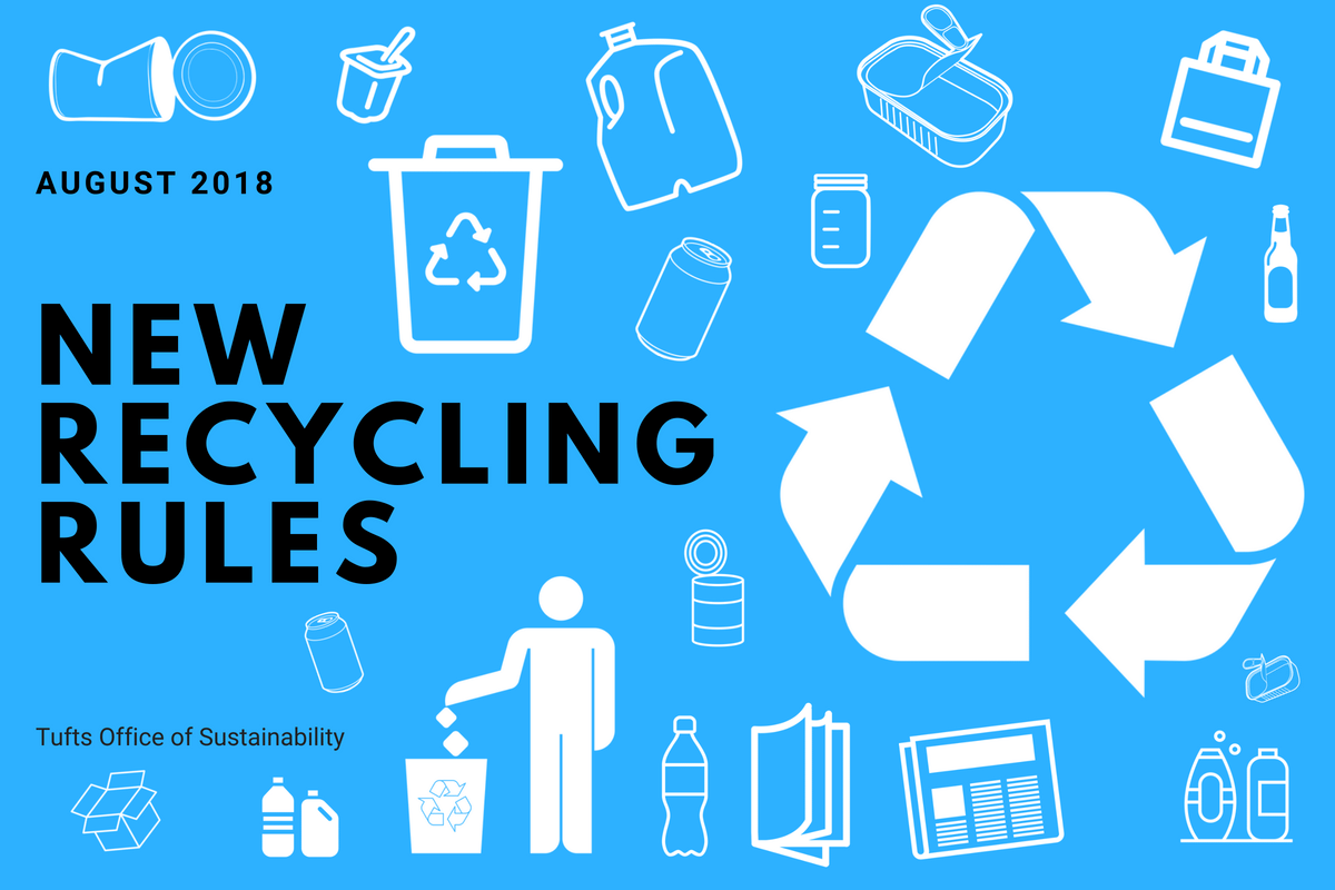 New Recycling Rules - Throw Out Your Plastic Cups