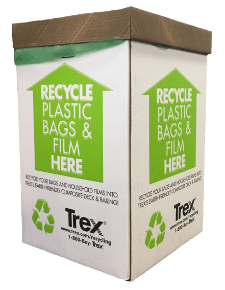 As Trex Notes On Their Website The Average 500 Square Foot Composite Deck Contains 140 000 Recycled Plastic Bags