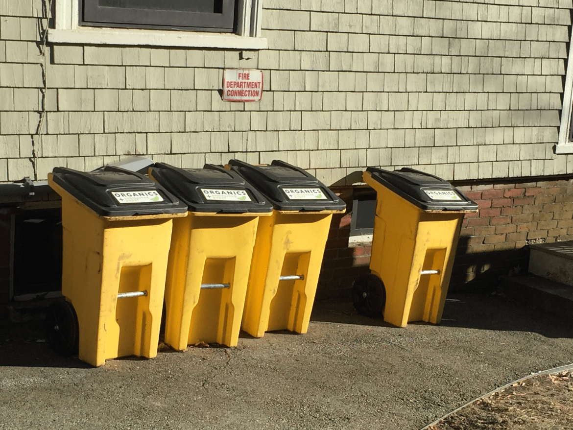 Summer compost collection sites reduced